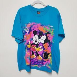 Mickey Unlimited Blue Women's Plus Size TShirt 1X